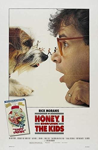 Amazon Com Honey I Shrunk The Kids 1989 Original Authentic Movie Poster 27x41 One Sheet Double Sided Folded Rick Moranis Marcia Stassman Matt Frewer Everything Else