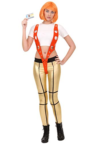 Leeloo Halloween Costume (5th Element Leeloo Orange Harness Costume)