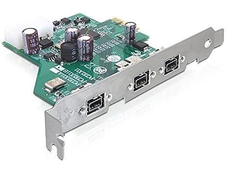 DeLOCK - Tarjeta PCI Express (3 FireWire B): Amazon.es ...