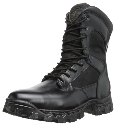 Rocky Men's FQ0002165 Boot, black, 6.5 M (Mens Black Uniform Western Boots)