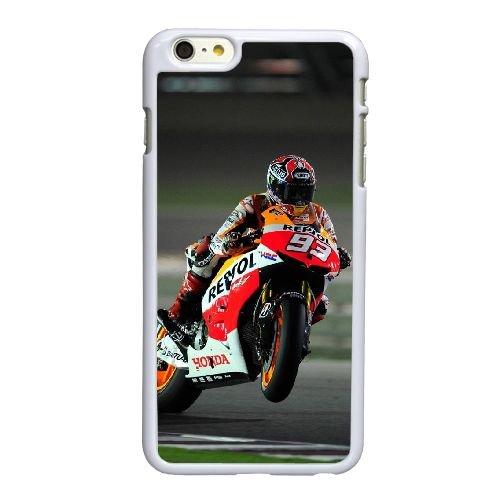 O6L56 Marc Marquez W2N5NH coque iPhone 6 4.7 pouces Cas de couverture de téléphone portable coque blanche DD8BHR4AY