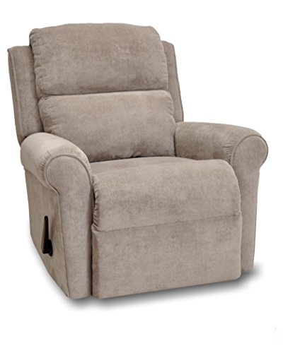 Franklin Serenity Manual Wall Proximity Lay Flat Recliner, Cachet Mineral Franklin Recliner Chairs
