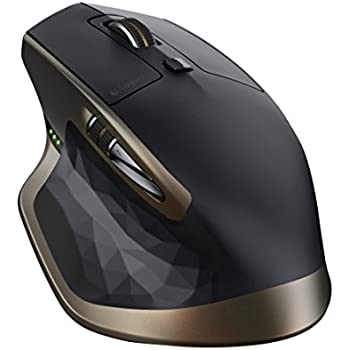 Logitech MX Master Wireless Mouse – High-precision Sensor, Speed-adaptive Scroll Wheel,  Thumb Scroll Wheel, Easy-Switch up to 3 Devices
