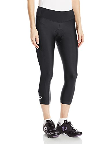 Pearl iZUMi Women's Escape Sugar CYC 3 Quarter Tights, Black/Black, X-Small by Pearl iZUMi (Image #1)