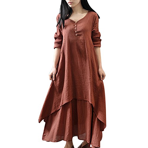 Double Layer Jersey Dress - 7