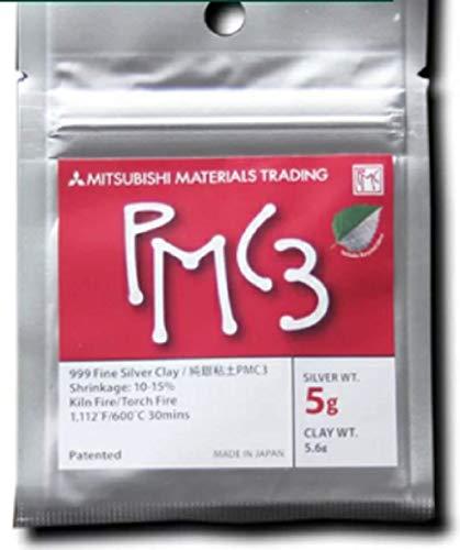 - Mitsubishi PMC3 Precious Metal Clay Silver 5 Grams