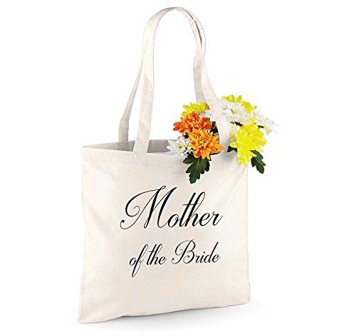 Shugon - Bolso de tela para mujer Natural Mother of the Bride