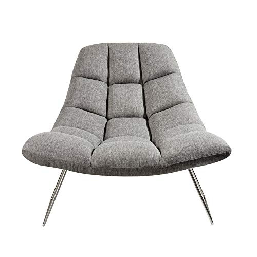 Adesso Bartlett Chair- Charcoal Grey