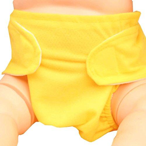 Waterproof Baby Leak-proof Bibs (Yellow) - 5