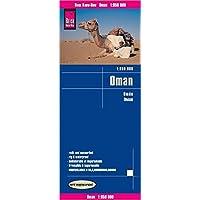Reise Know-How Landkarte Oman 1 : 850.000