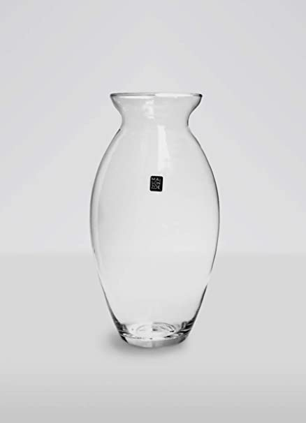 Maison Zoe Mouth Blown And Handmade Glass Vase Lucy 15cm 30cm