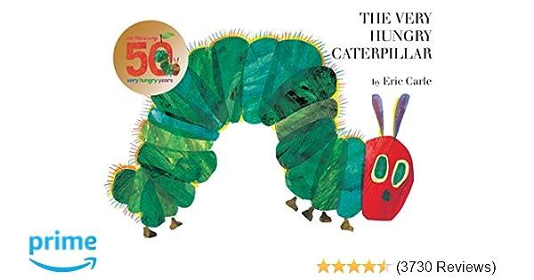 Amazon com: The Very Hungry Caterpillar (9780399226908