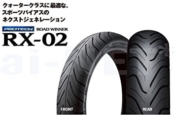 IRC RX-02 Road Winner Rear Tire 130//70-17