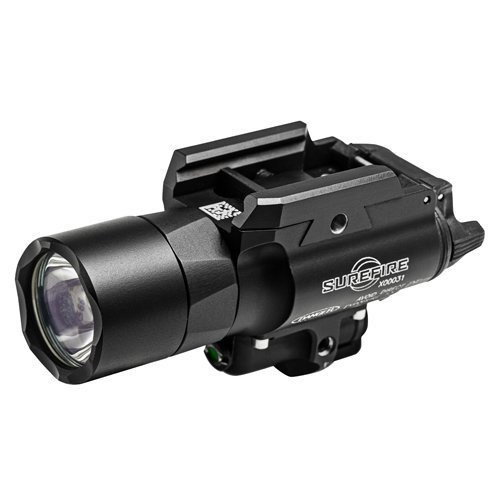 SureFire X400 Ultra LED Handgun or Long Gun WeaponLight with Green Laser Sight