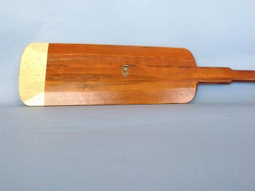 Wooden Hamilton Squared Rowing Oar 62'' - Nautical Decoration - Wooden Oar - Nautical by Handcrafted Model Ships (Image #8)