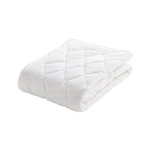 【日本製 フランスベッド ベッドパッド】ワイドダブル クランフォレスト羊毛ベッドパット 品番:35838660 ウール100% B00M3PBEC8