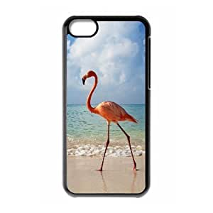 MMZ DIY PHONE CASEALICASE Diy Hard Shell Case Flamingos For ipod touch 5 [Pattern-1]