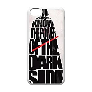Case for iPhone 5C, Power of the Darkside Case for iPhone 5C, Dustin White