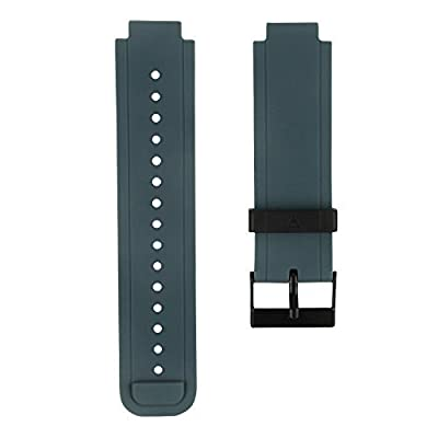 Treasuremax Replacement Sport Watchband for Garmin Vivoactive, Silicone Replacement Bands Wristband with Metal Clasps for Garmin Vivoactive GPS Smart Watch