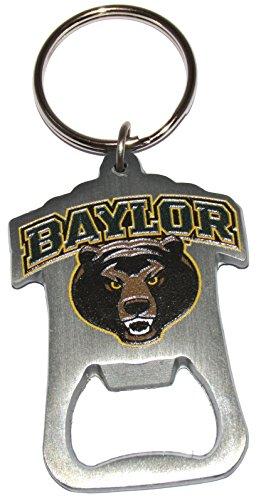 Bears Baylor Bottle - Baylor Bears Logo Key Ring Bottle Opener