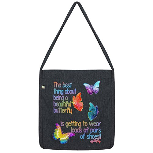 Thing About Bag A Beautiful Best Being Envy Black Tote Butterfly Twisted SpnPxzES