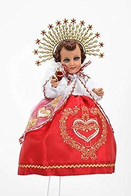2020 Baby Jesus Outfit. Sagrado Corazon. Traje Niño Dios (50cm)