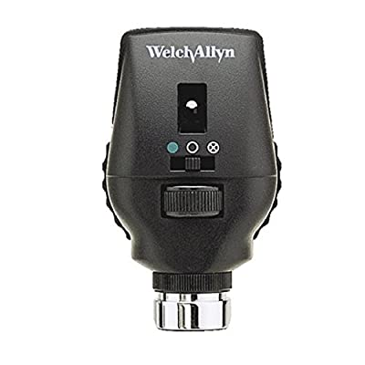 Welch Allyn 11720-L Sure Color LED Coaxial Ophthalmoscope with LED, Head Only, 3.5V