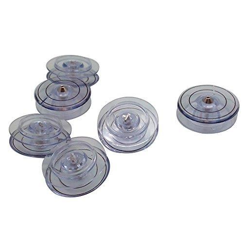 10PCS BOBBIN PLASTIC #312956 fits SINGER 2010 4613 4617 4623 4663 6234 9124