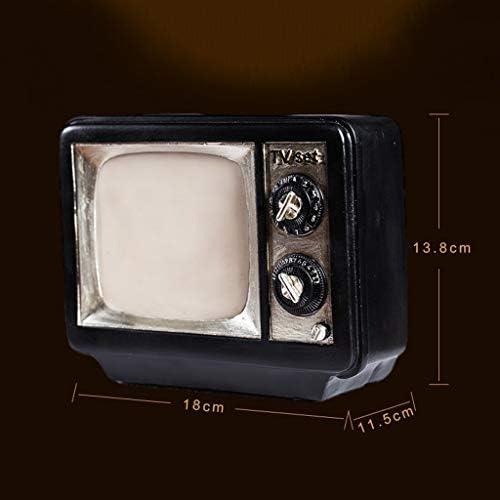 ShenZuYangShop Huchas Caja de Dinero Retro Nostálgico Televisor Blanco y Negro Alcancía Calidad Resina Decoraciones para el hogar Personalidad Creativa Regalo de cumpleaños: Amazon.es: Hogar
