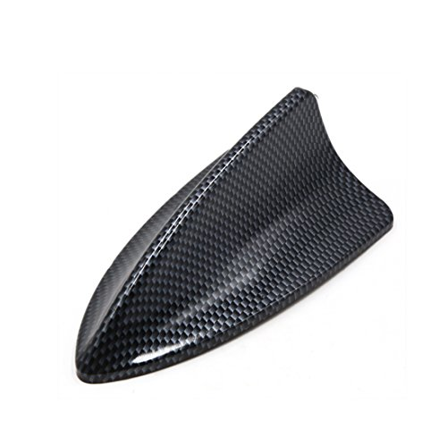 uxcell Universal Fiber Carbon Pattern Self Adhesive Shark Fin Design Decorative ()