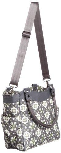 Petunia Pickle Bottom City Carryall - Bolsa de maternidad, diseño Glazed Misted Marseille