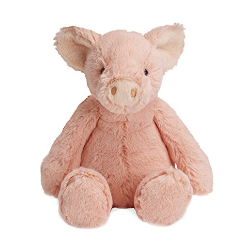 Manhattan Toy Lovelies Pink Piper Pig Plush, 12""