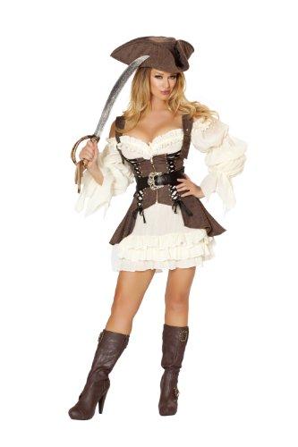 Roma Costume Women's 4 piece Naughty Ship