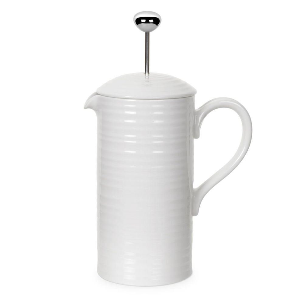 Sophie Conran - Cafetiere - White - .8L - 1.7pt (Pack of 2)