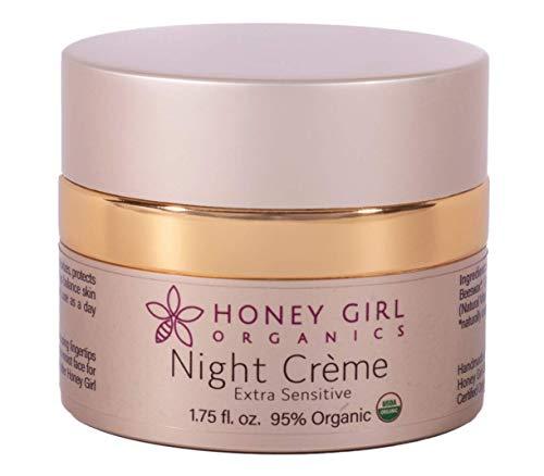 Honey Girl Organics Night Creme, Extra Sensitive, 1.75 Fluid Ounce