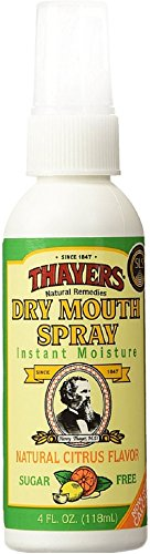 Thayers Dry Mouth Spray, Citrus Flavor 4 oz (Pack of 7) ()