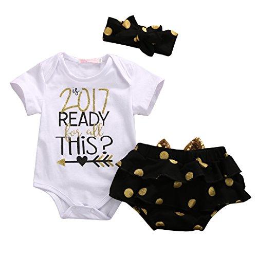 Baby-Girl-3pcs-Set-Outfit-2017-READY-THiS-Romper-Short-PantsHeadband