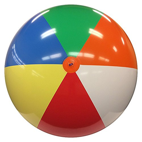 8-FT Deflated Size Multicolor Beach Ball by Beachballs