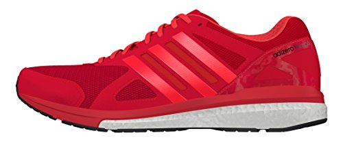 new product 03a2d 64824 Tempo Da Taglia 8 Red Adidas Scarpe Adizero M Uomo Running 5