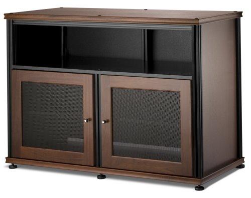Salamander Synergy 329  A/V Cabinet w/ Two Doors & Center Channel Shelf  (Hardwood Center Channel Speaker Stands)
