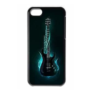 Unique Phone Case Pattern 15Love Guitar Pattern- For Iphone 5c