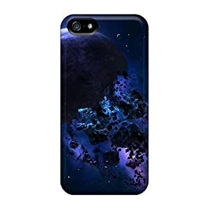 Back Cases Covers For Iphone 5/5s - Space Asteroids