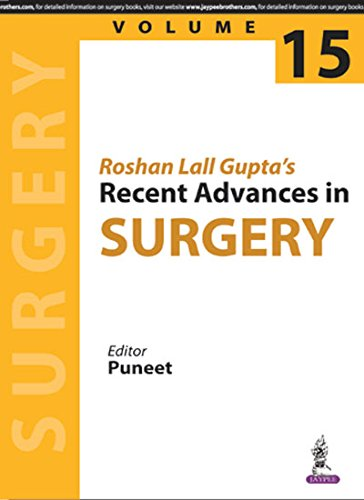 amazon in buy roshan lall gupta s recent advances in surgery vol 15