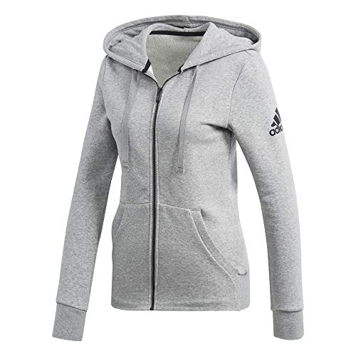 Gris Solid Jacke Chaqueta Mujer Adidas Essentials nzvxqfn1