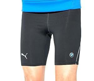 Men's Athletic Running Shorts Black (Large)