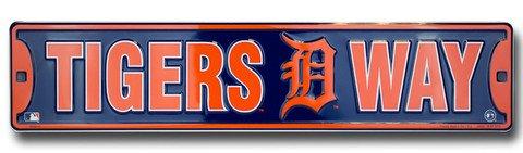 Tigers Way Detroit Tigers Street Sign