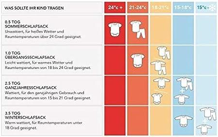 70cm Saco de repetici/ón Saco de dormir con patas ligeramente forrado en 1.0/tog/ /Disponible en 5/tama/ños diferentes Talla:6-12 Monate /elefantes Unisex/