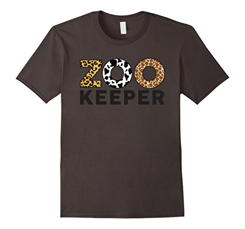 Mens Zookeeper African Savannah Animal Print T-Shirt XL - Animal Print Mens Shirts