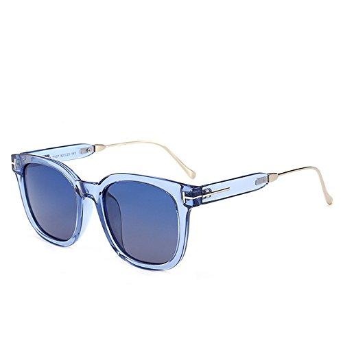 Gu Gafas Marco Forma Libre UV de Protección Que de C4 Color viaja al para Aire Cuadrado Mujeres C1 Conducción Sol Coloreada Lente Grande Peggy pdw0qp