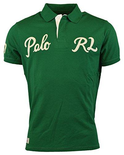 Polo Ralph Lauren Men Polo RL Logo (Small, Ath - Ralph Lauren 67 Rl